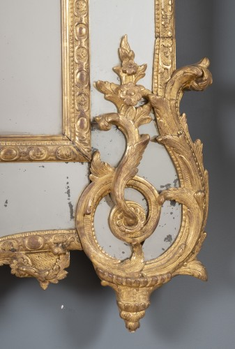 French Régence Mirror -