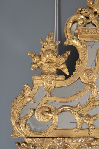 Antiquités - French Régence Mirror