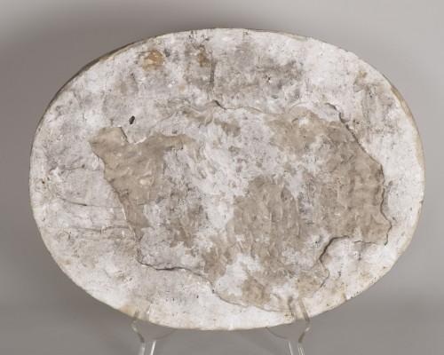 17th century - 17th century marble relief a bacchanalian scene