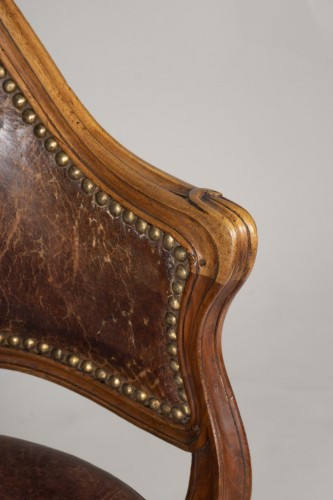 18th century - Louis XV Cabinet Armchair