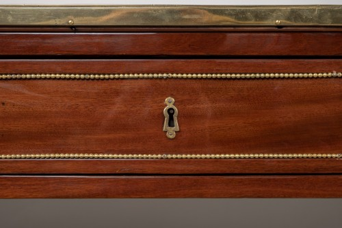 Great Louis XVI mahogany console stamped by Fidelys Schey - Louis XVI