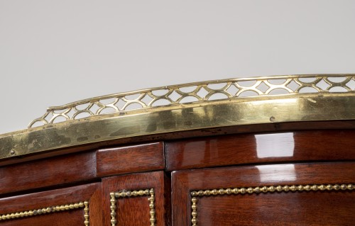 Antiquités - Great Louis XVI mahogany console stamped by Fidelys Schey