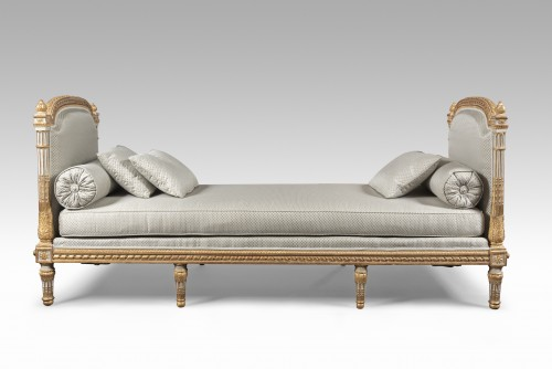Furniture  - Louis XVI Bed of rest  stamped Georges Jacob
