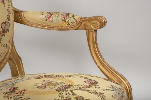 Seating  - Set of 6 Louis XVI  armchairs by Georges Jacob