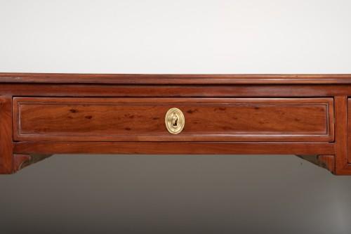Louis XVI - Louis XVI mahogany desk attributed to Fidelys Schey