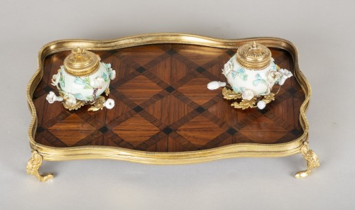 Louis XV inkwell - Decorative Objects Style Louis XV