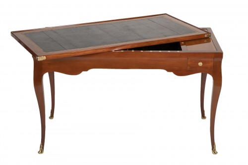 Louis XV mahogany tric trac table