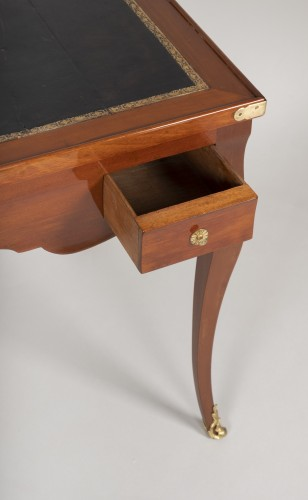 Furniture  - Louis XV mahogany tric trac table