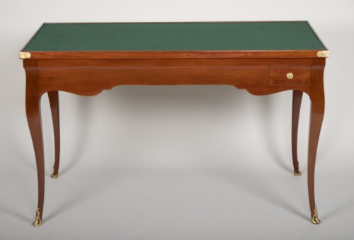 Louis XV mahogany tric trac table -