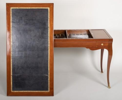 18th century - Louis XV mahogany tric trac table