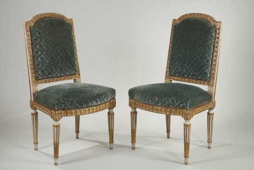 12 Louis XVI style chairs  - Seating Style