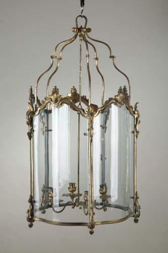 Lighting  - Pair Of Gilt Bronze Lanterns