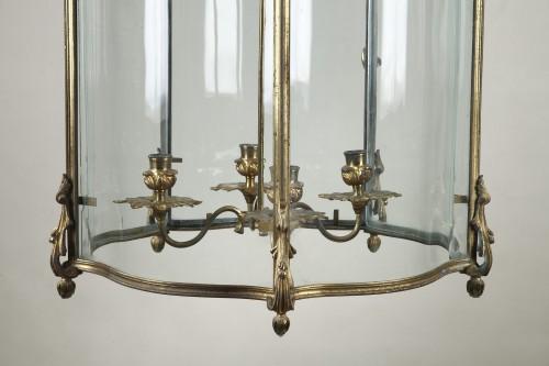 Pair Of Gilt Bronze Lanterns - Louis XV