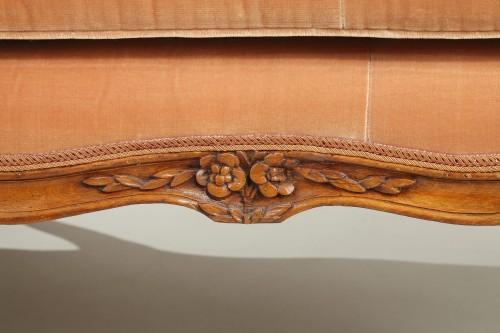 "Pair of Louis XV ""veilleuses"" sofas - Louis XV"