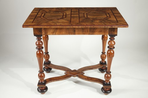 Louis XIV Center Table Attributed To Thomas Hache - Furniture Style Louis XIV