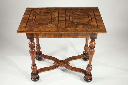 Furniture  - Louis XIV Center Table Attributed To Thomas Hache