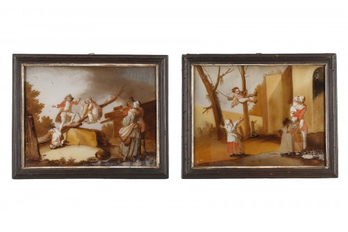 The Spanking And The Swing - 18th century school
