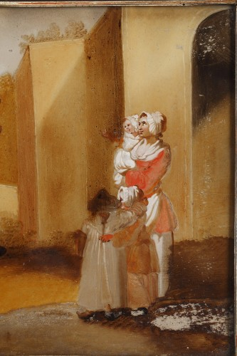 18th century - The Spanking And The Swing - 18th century school