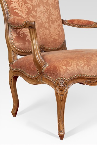 Pair Of Louis XV Armchairs - Seating Style Louis XV