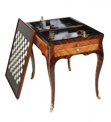 Louis XV Tric Trac table