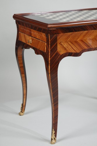 18th century - Louis XV Tric Trac table