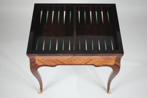 Antiquités - Louis XV Tric Trac table