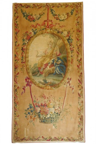 18th century Aubusson tapestry - Ceres, allegory of summer