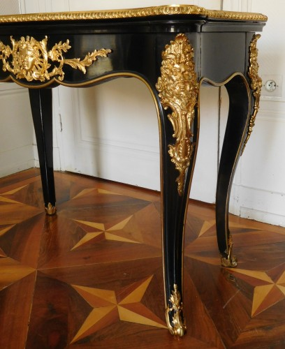Game table / card table, mid 19th century -