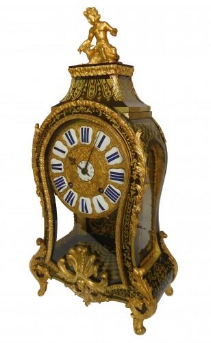 Regence marquetry cartel clock, Ledoux - Paris, 18th century circa 1730