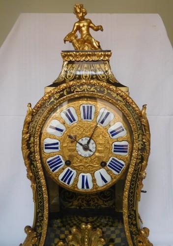 Clocks  - Regence marquetry cartel clock, Ledoux - Paris, 18th century circa 1730