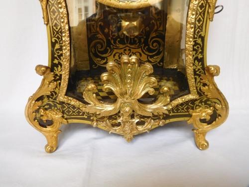 Regence marquetry cartel clock, Ledoux - Paris, 18th century circa 1730 -
