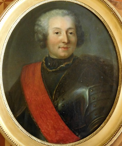 18th century French school - Portrait of an officer - Paintings & Drawings Style Louis XVI