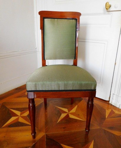 19th century - Jacob Desmalter - Empire mahogany chairs stamped