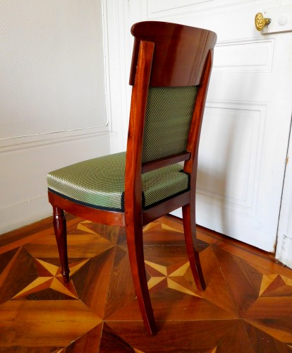 Jacob Desmalter - Empire mahogany chairs stamped - Empire