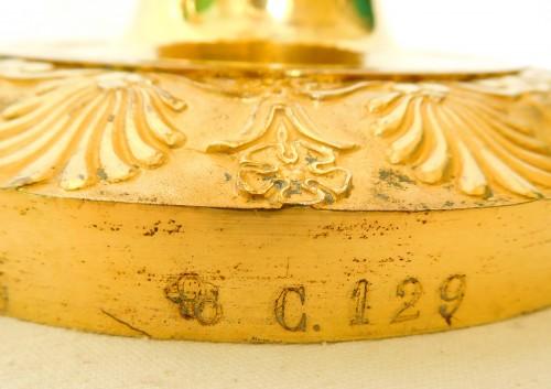 Antiquités - Claude Galle - Pair of Empire period ormolu candlesticks