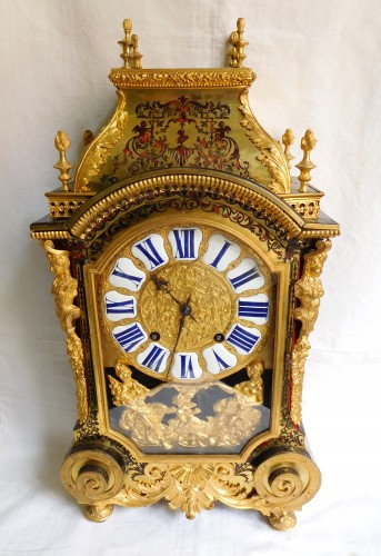 Clocks  - Louis XIV Boulle marquetry clock