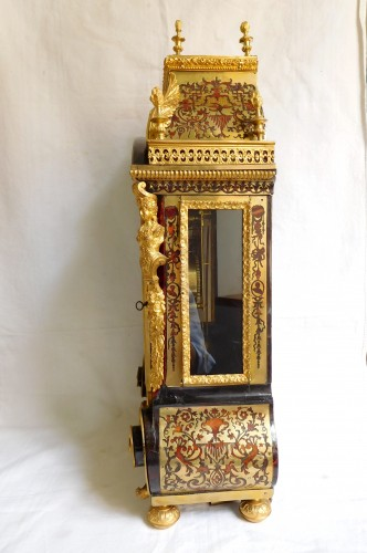 Louis XIV Boulle marquetry clock -