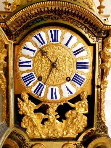 Louis XIV Boulle marquetry clock - Louis XIV
