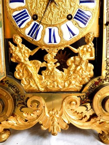 Louis XIV - Louis XIV Boulle marquetry clock