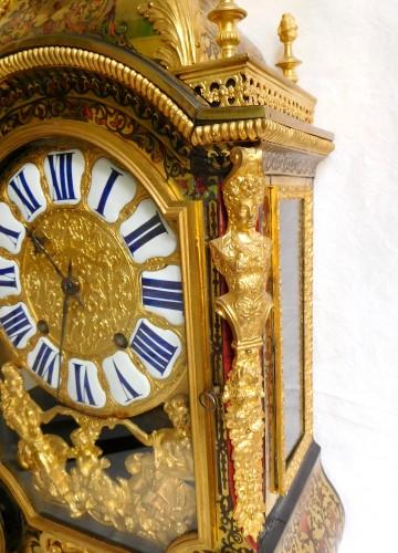 Antiquités - Louis XIV Boulle marquetry clock
