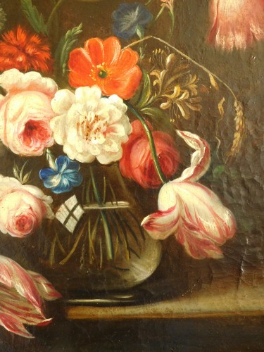flowers bouquet - 18th century Dutch school -