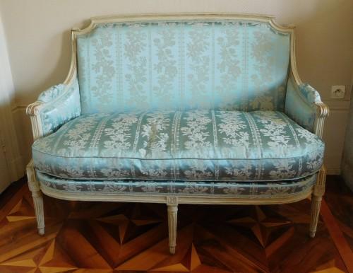 Louis XVI sofa - Seating Style Louis XVI