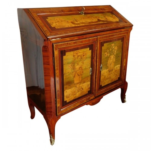 18th century Writing desk, stamped Topino