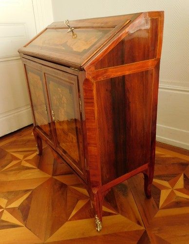 18th century Writing desk, stamped Topino -