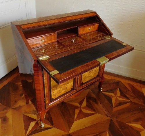 18th century - 18th century Writing desk, stamped Topino