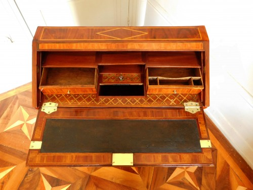 Transition - 18th century Writing desk, stamped Topino