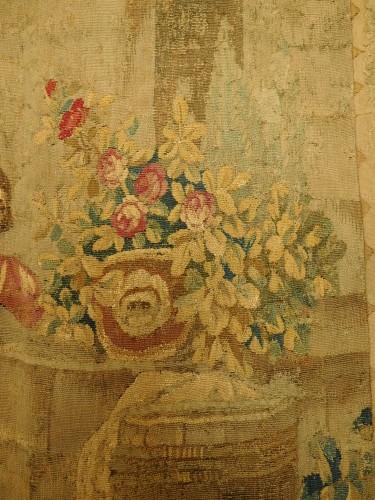 Aubusson tapestry, wool & silk, Louis XVI period - Louis XVI