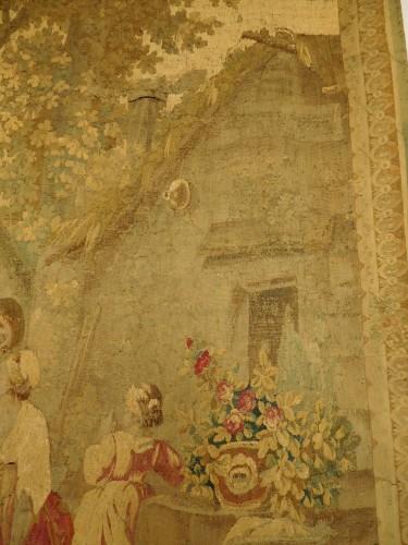 Louis XVI - Aubusson tapestry, wool & silk, Louis XVI period