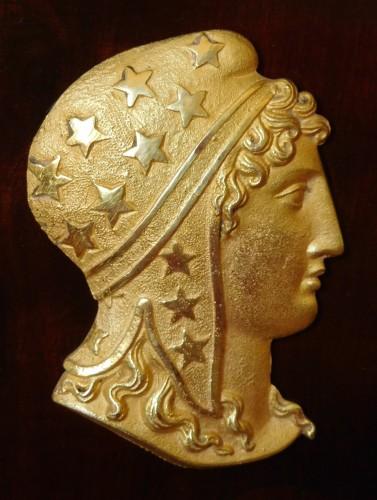 Antiquités - Empire Period Commode-secretary, Circa 1810 Stamped of Molitor