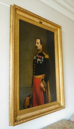 Paintings & Drawings  - Eugène Laville - tall portrait of General Barral 175cm x 124cm